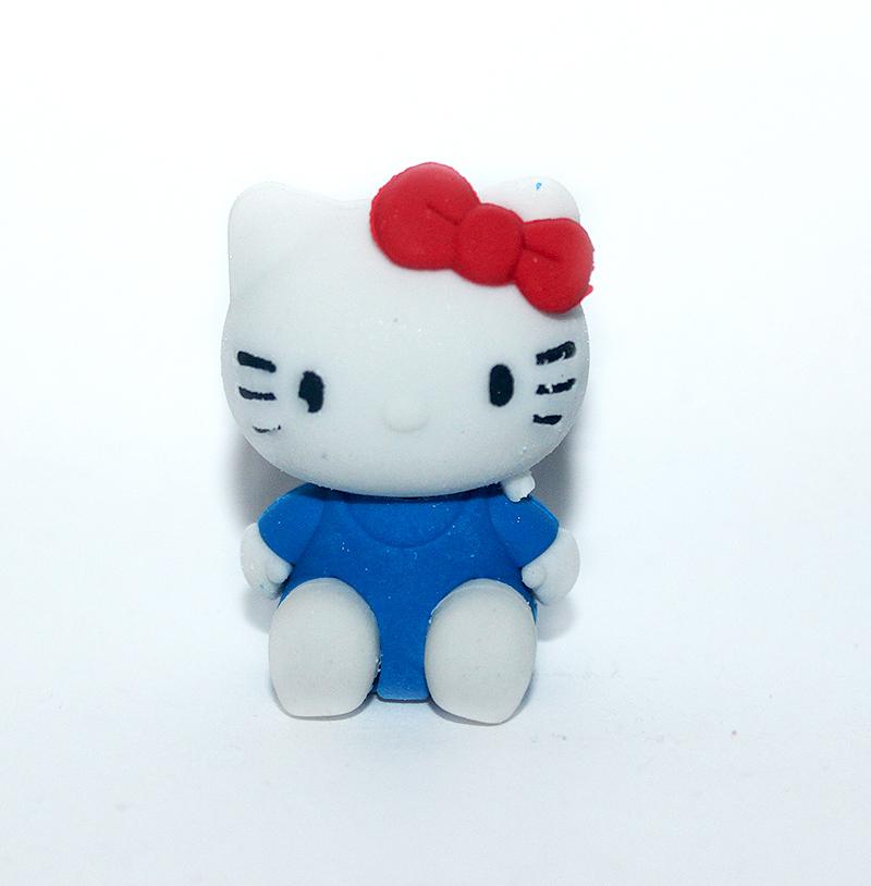 macskás színes radírok, cicás ajándék