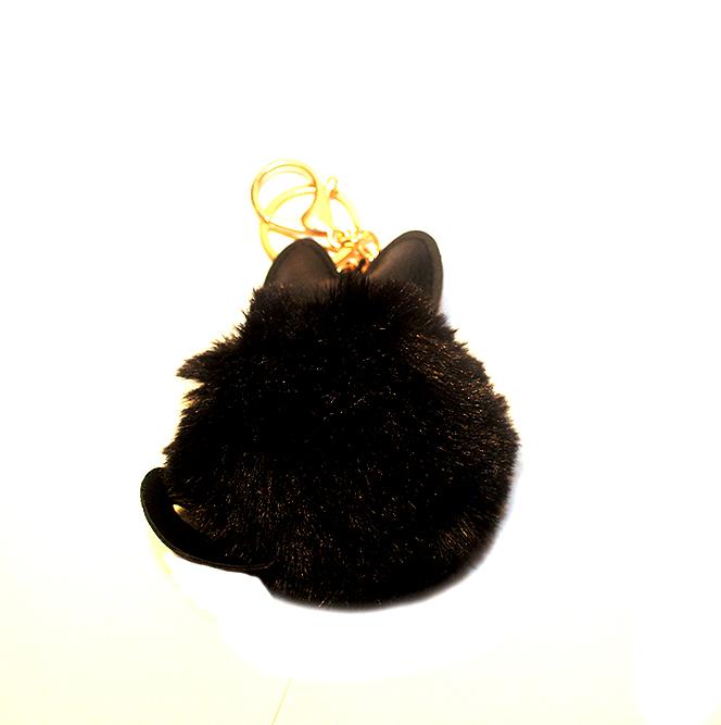 cicás kulcstartó, macskás ajándék