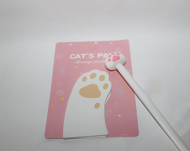 cica mancs jegyzettömb, macskás ajándék