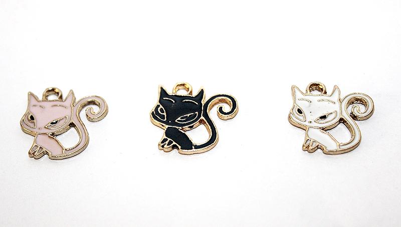 cicás medál, macskás ajándék