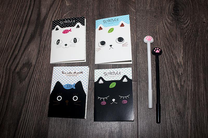 macskás notesz, cicás ajándék
