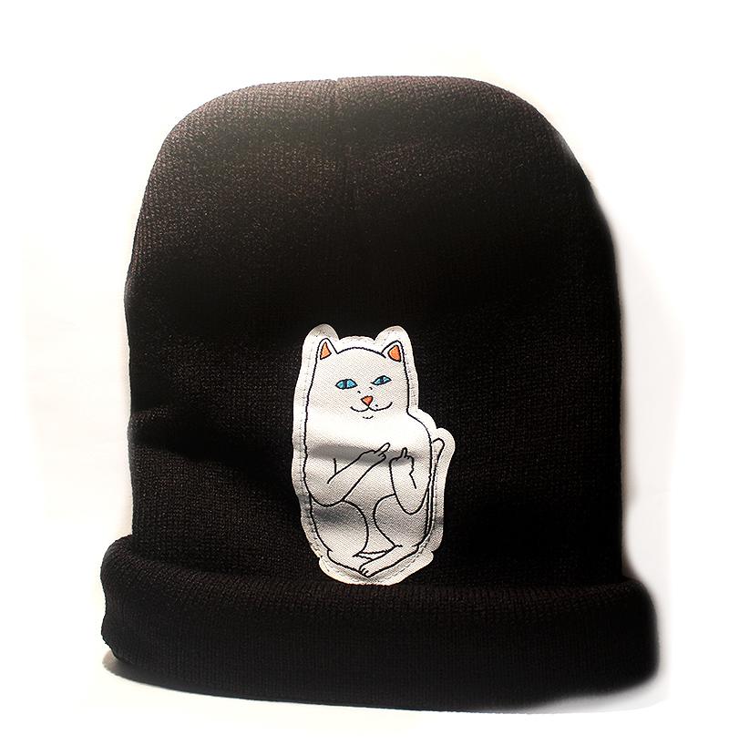 macskás ajándék, cicás sapka
