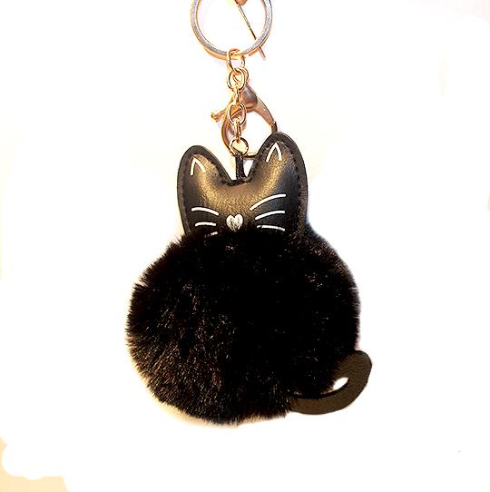macskás kulcstartó, cicás ajándék
