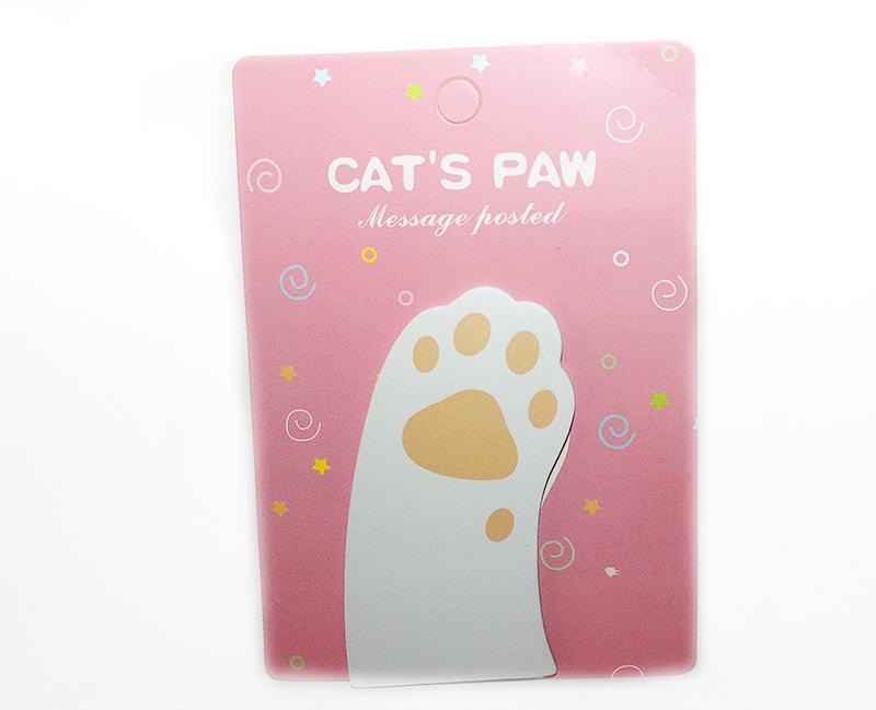 macska mancsos jegyzettömb