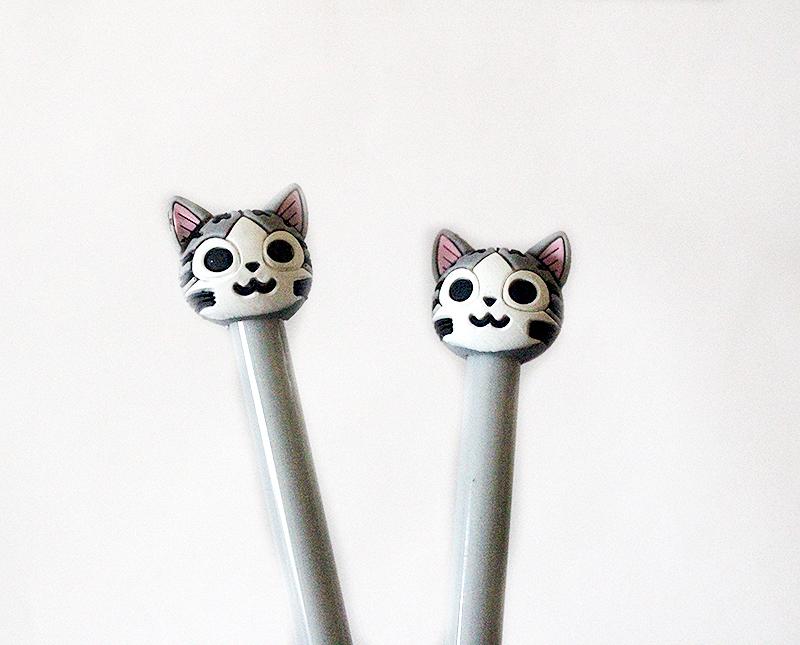 macskás írószer, cicás ajándék